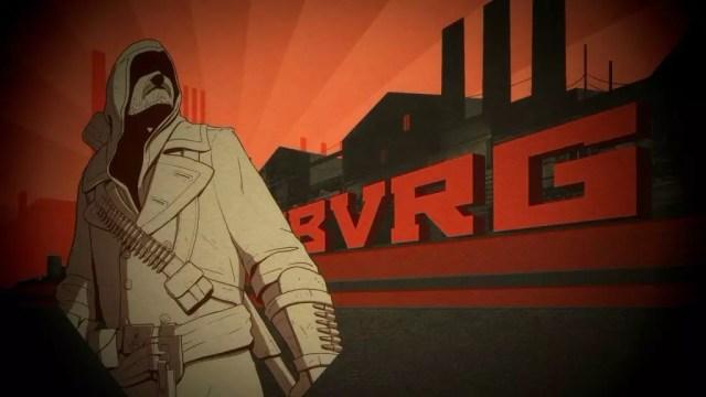 As ilustrações do jogo tem traços e cores modernizados dos cartazes da Revolução Russa