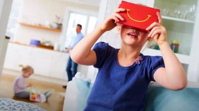 McDonald's lançará óculos virtual