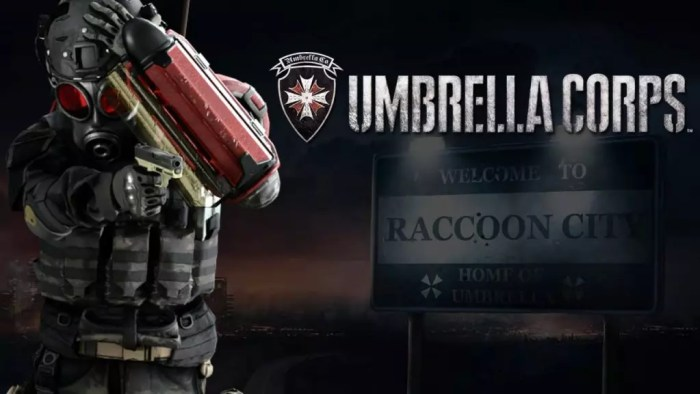 Umbrella-Corps adiado