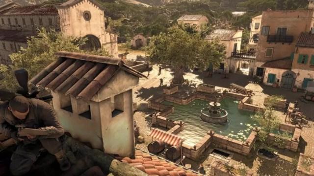 A cidade em Sniper Elite 4