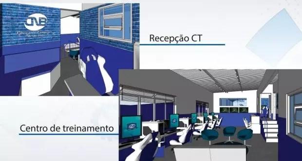 Espaços da Arena CNB HyperX