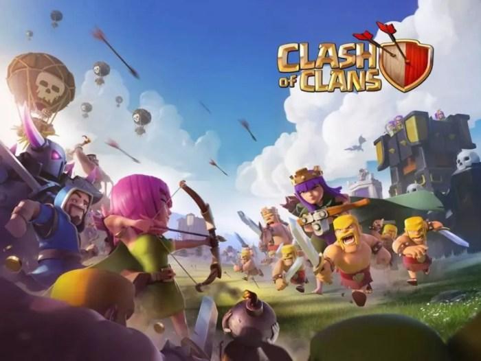 Clash of Clans e League of legends