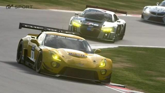 Gameplay de Gran Turismo Sport