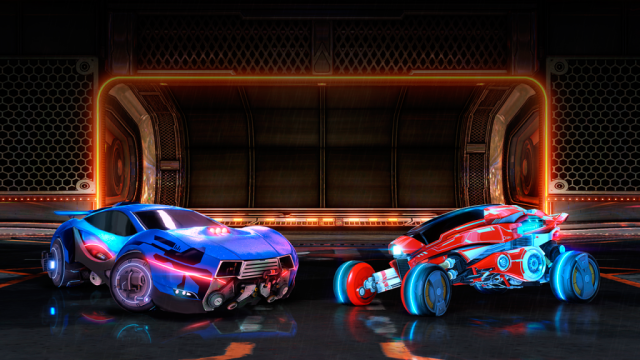 NeoTokyo Cars Rocket League