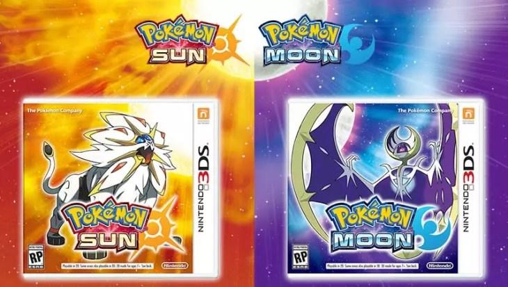 Novos Pokémons em Pokémon sun e moon