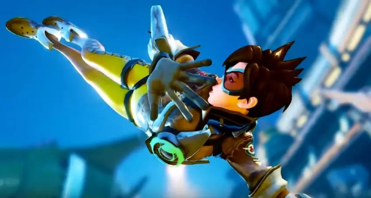Tracer no Street Fighter V