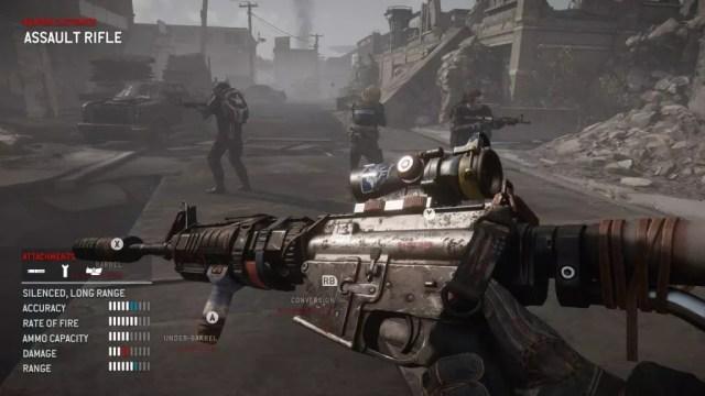 Além de belíssimos gráficos, Homefront: The Revolution possui sistema de personalização de armas
