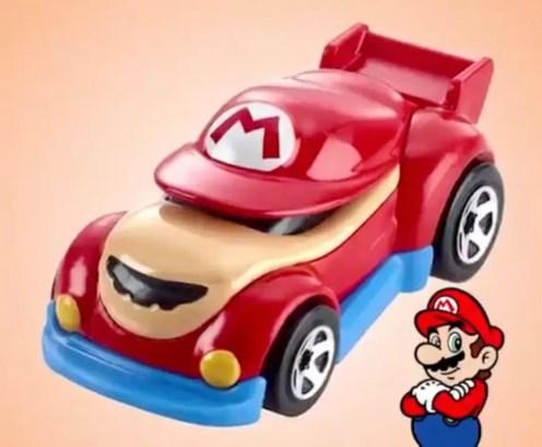 Mario hot wheels