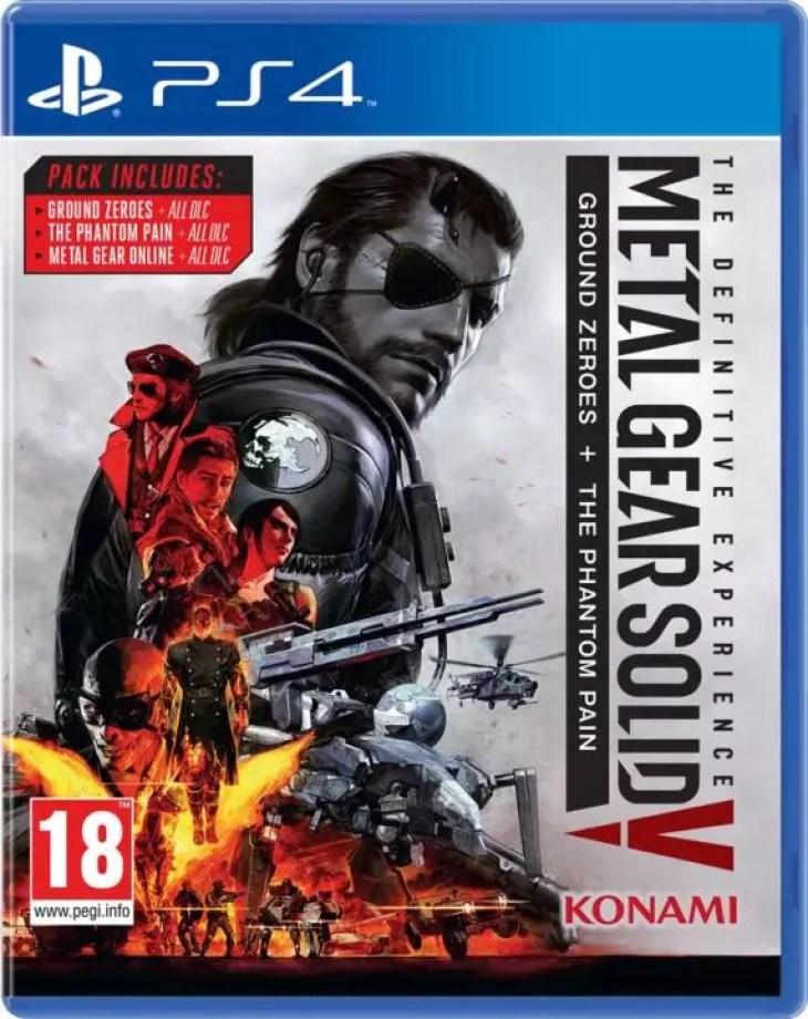 Metal Gear Solid 5 versão definitiva anunciada