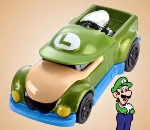 coleção de carros hot wheels mario