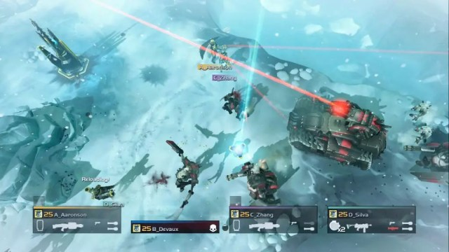 Helldivers Ice Tank