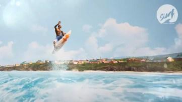 Surf World Series screens do jogo