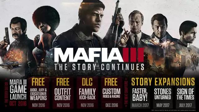 Mafia 3 expansões 2017