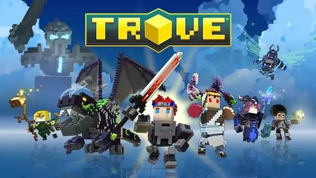 Lançamento de Trove nos consoles 2017