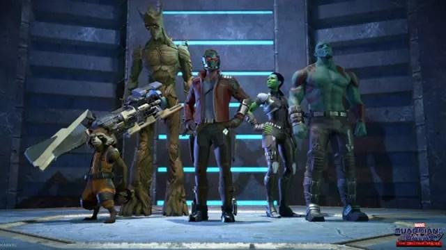 Lançamento jogo Guardiões da Galáxia Telltale