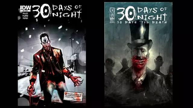 30 days of night capa quadrinho