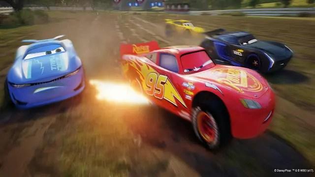Carros 3 jogo lançamento