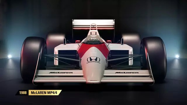 Fórmula 1 2017 carro do Senna