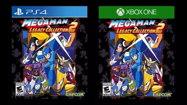 Capas formato físico de Mega Man Legacy Collection 2