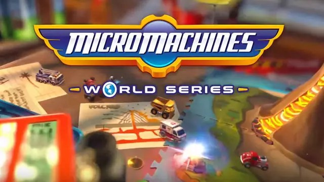 Micro Machines World Series nova data de lançamento