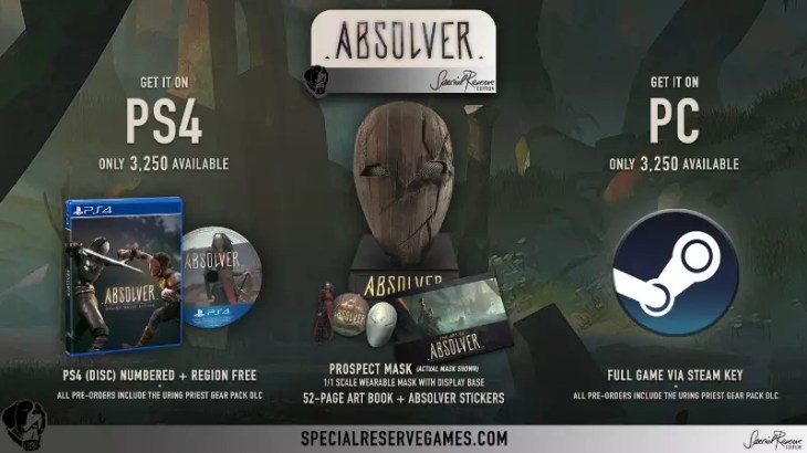 Absolver Special Reserve Games