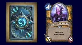 Cartas hearthstone frozen throne expansão