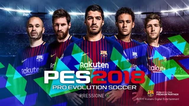 PES 2018 capa