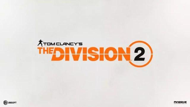 Tela de início - The Division 2