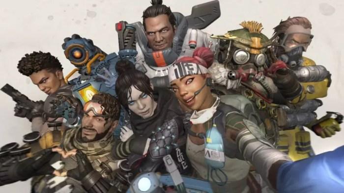 Os personagens de Apex Legends