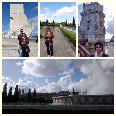 Torre de Belém, Monumento aos Navegantes e Praça do Império