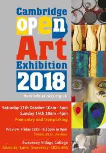 Open Art Exhibition 2018 - catalogue image and web link