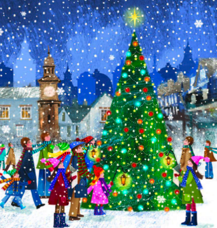 JDRF Christamas card - image and web link