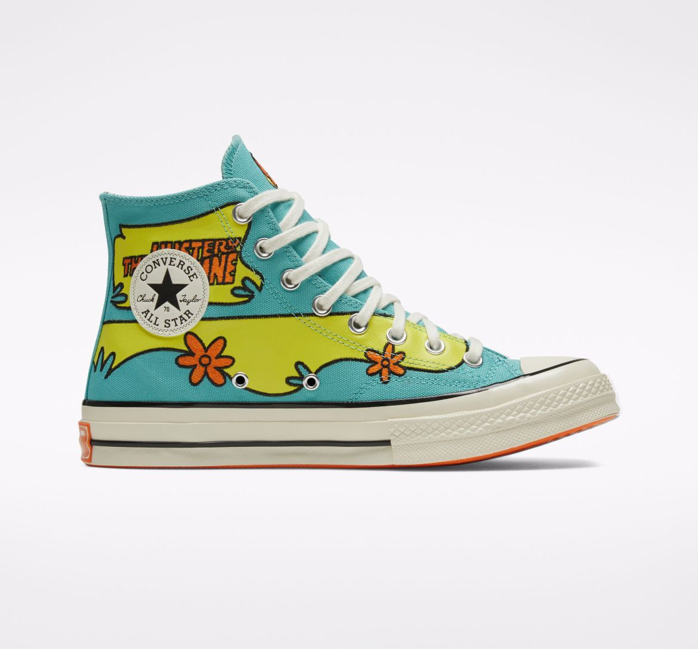 Converse x Scooby-Doo Chuck 70 Pool Blue/Sulfur Spring/Egret