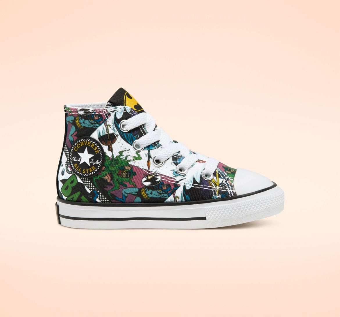 Converse x Batman Chuck Taylor All Star White/Black/Multi