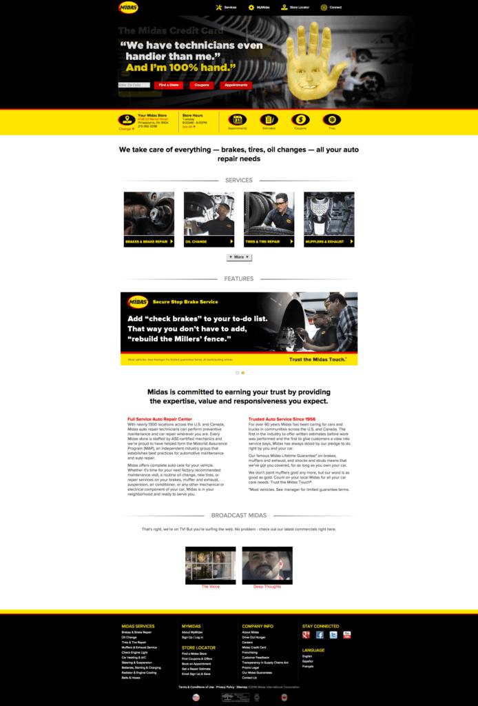 Midas Home Page