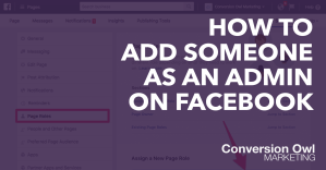 how to add someone as an admin on facebook