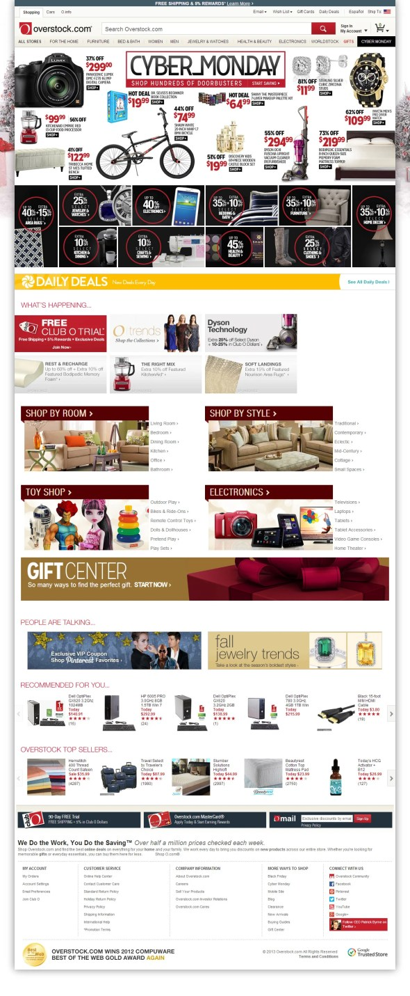 Overstock.com--Online-Shopping---Bedding,-Furniture,-Electronics,-Jewelry,-Clothing-&-more