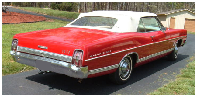 Ford Parts 1967 500 Galaxie