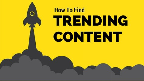 How To Find Trending Content