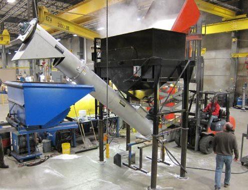 Inclined Screw Conveyors   Stainless Screw Conveyor   Design