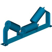Offset Idler for conveyor system