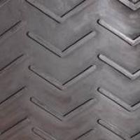 Standard minicleat belting rubber profile