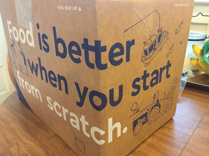 Blue Apron excels at customer experience