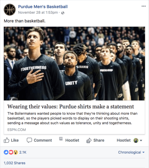 Purdue Men's Basketball uniforms