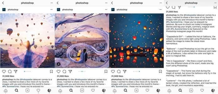 Photoshop Instagram story
