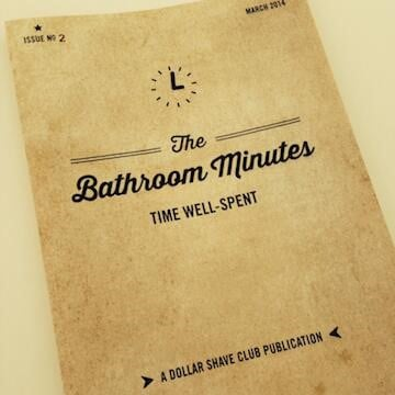 Dollar Shave Club's The Bathroom Minutes