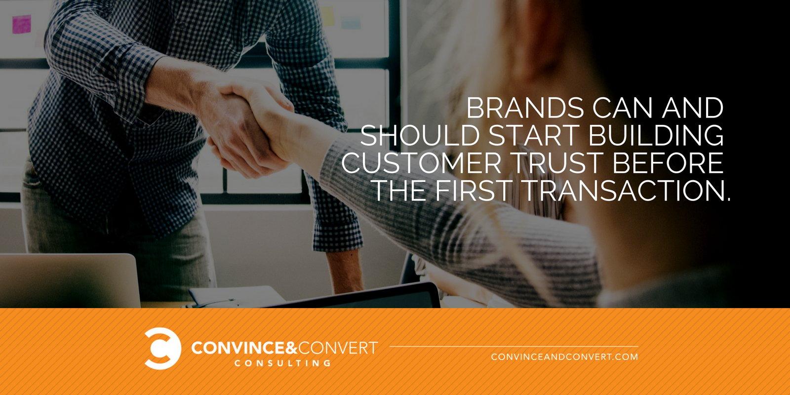 Build customer trust
