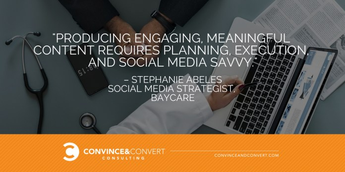 Producing engaging meaningful content