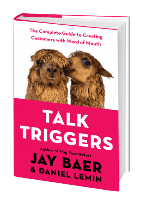 talk triggers - the best word of mouth marketing book