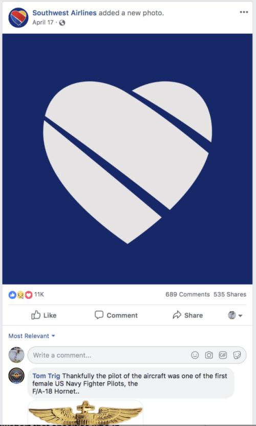 southwest air social media crisis